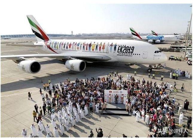 阿航的又一项世界纪录,一趟航班上有来自145个国家的乘客