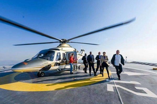 我國首個取證的商用寫字樓高架直升機場正式啟航