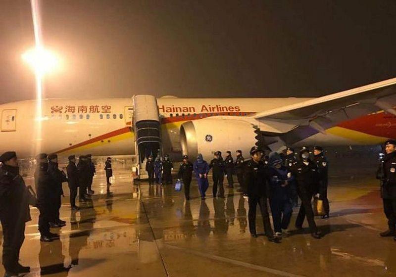 海南航空顺利完成雅加达包机押解回国任务