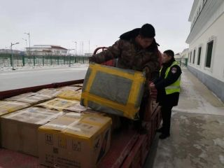 富蕴机场整理货运精品航线助力旺季生产