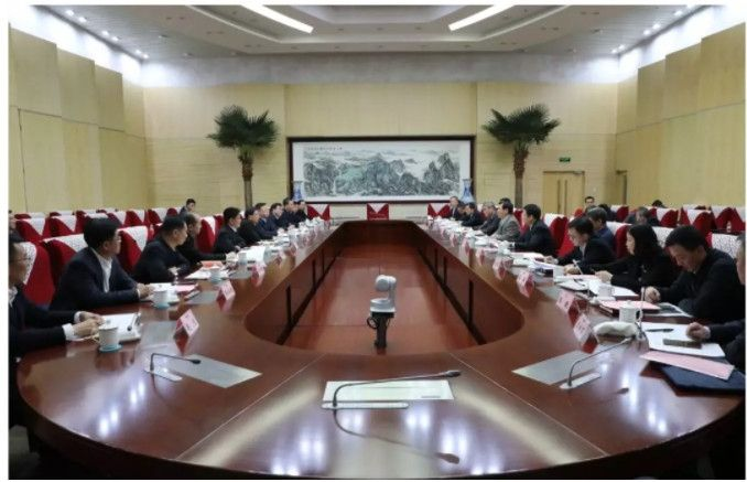 冯正霖会见福建省委书记于伟国、省长唐登杰一行