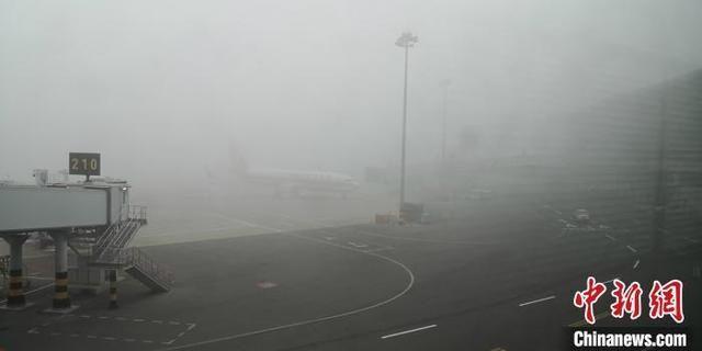 石家庄正定国际机场因大雾取消51个航班