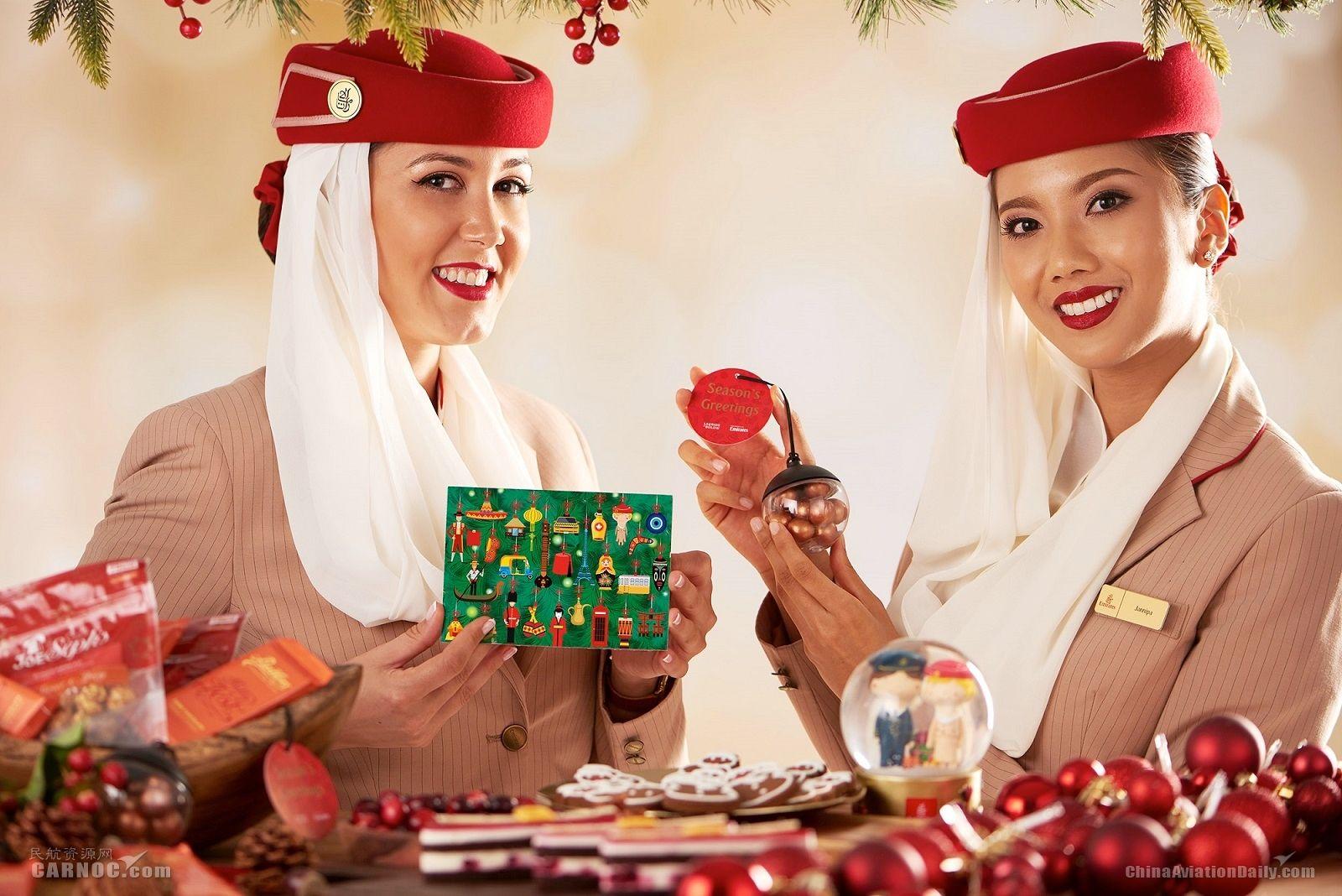 阿联酋航空将供应50万份圣诞机上餐食