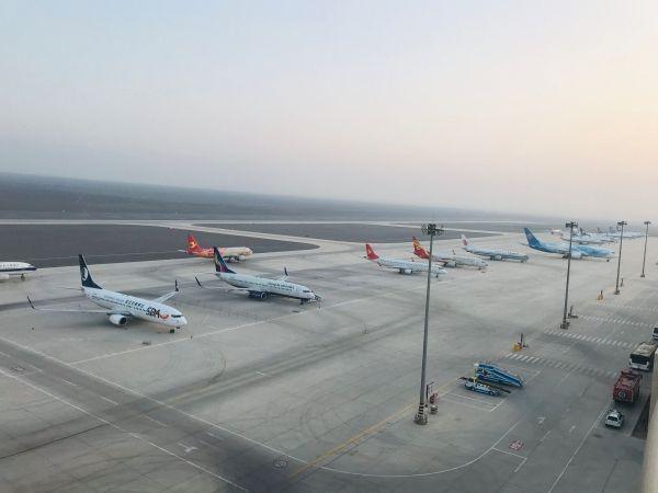 吐鲁番机场备降航班空铁联运初见成效