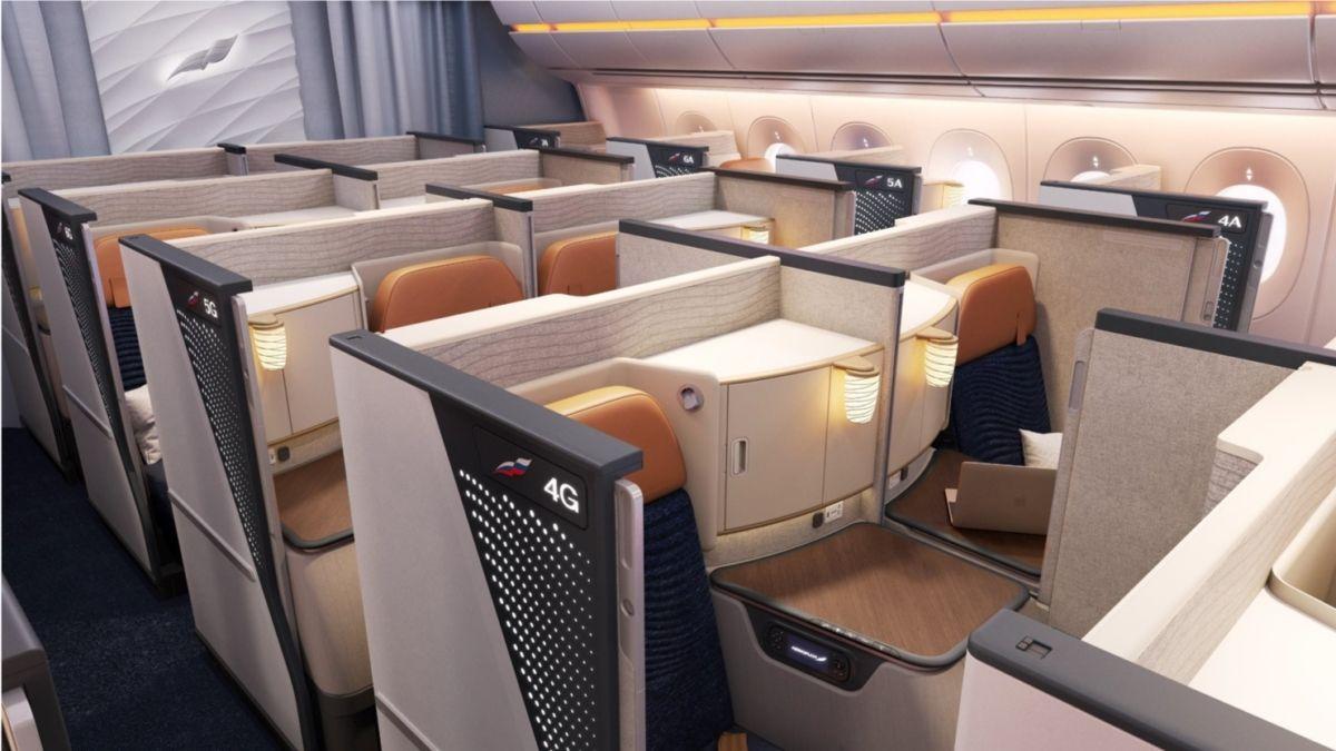 俄航A350商务舱