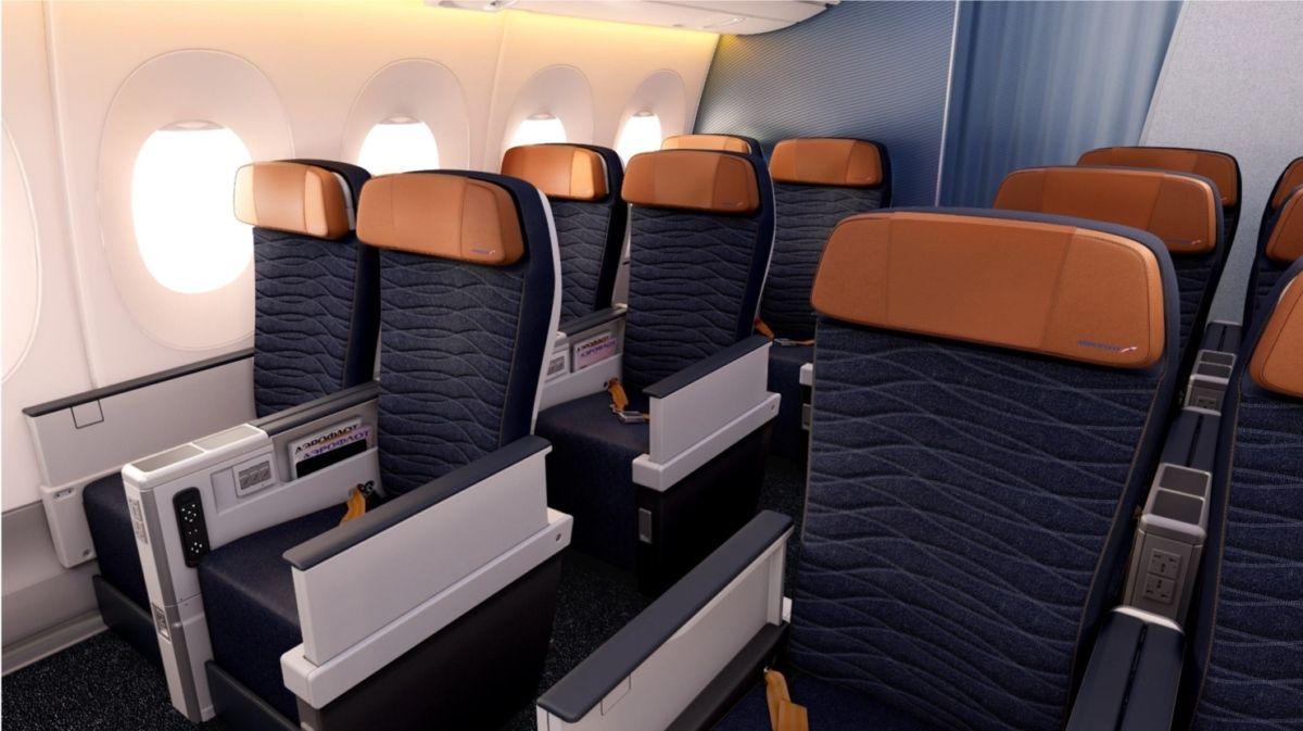 俄航A350高级经济舱