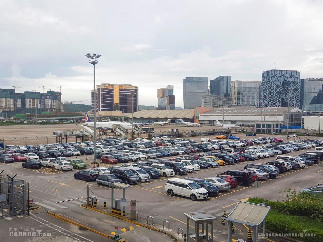 澳门国际机场停车场12月12日至21日临时封闭