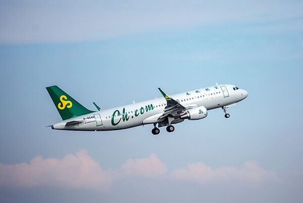 春秋航空8月国内客运量同比增37.33%