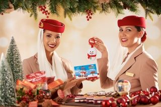 Emirates to serve 500,000 Christmas meals at 40,000 feet