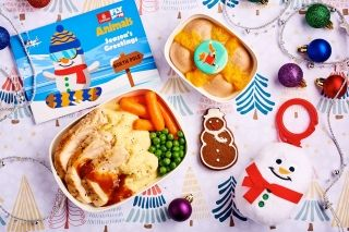 Children's meal during the festive preiod