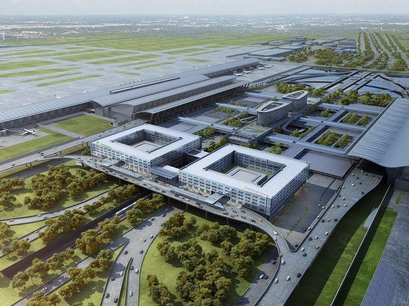 洲际+假日双品牌酒店即将入驻浦东机场 五方携手打造航站楼综合体项目