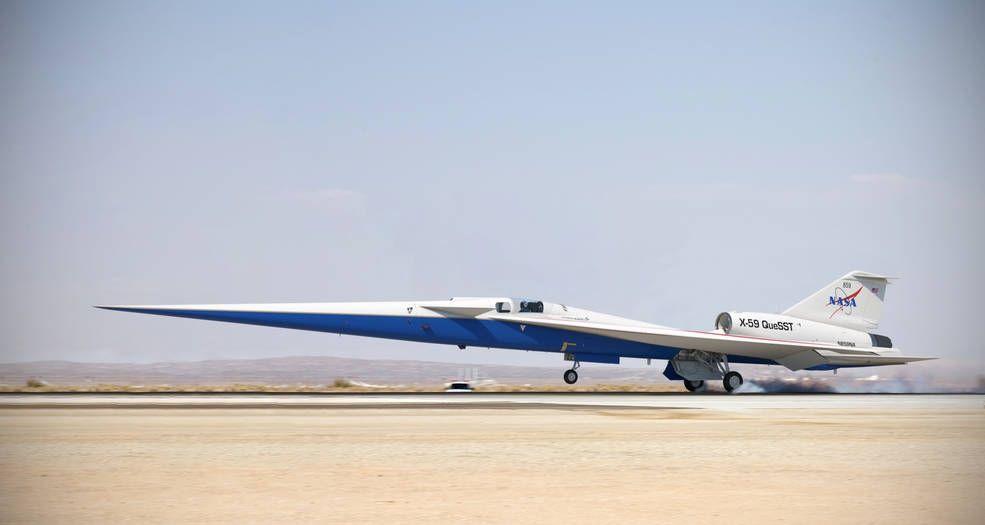 NASA安静超音速飞机获准进行组装 计划2021年首飞