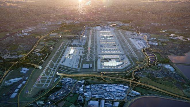 希思罗机场第三跑道扩建计划将延期至少12个月