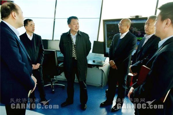 民航局空管局局长车进军到黑龙江空管分局调研