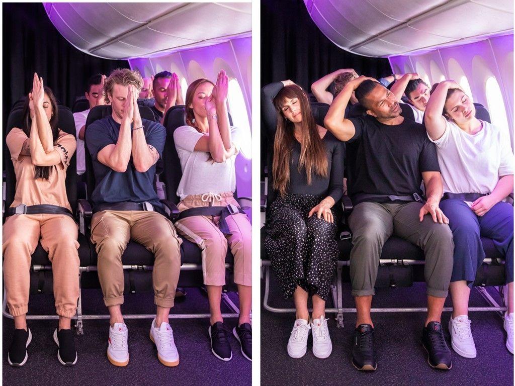 新西兰航空携手莱美引领空中健身新潮流