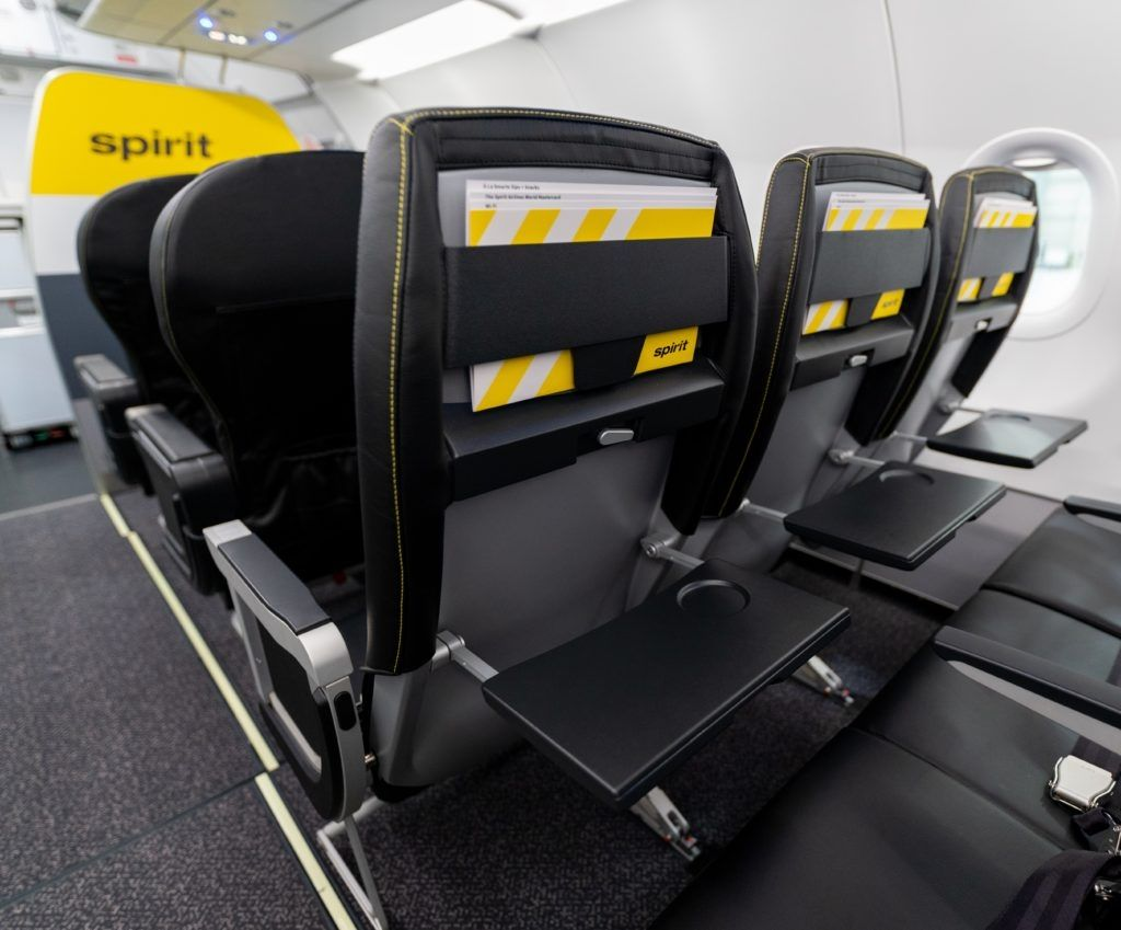 视频:精神航空推出新一代客舱和座椅
