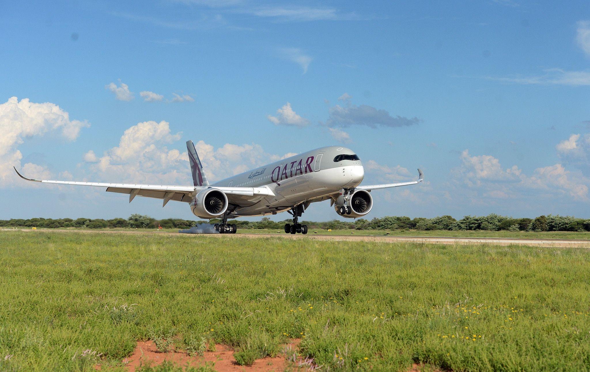 卡塔尔航空成功开通多哈—哈博罗内航线