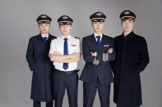山航全新一代空勤制服正式发布     山航供图