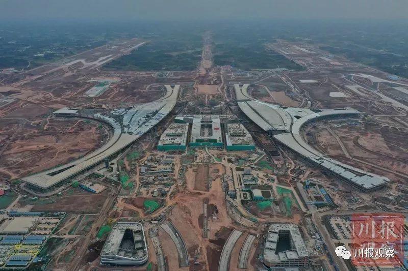 天府国际机场航站楼主体工程正式完工,预计2021年投用