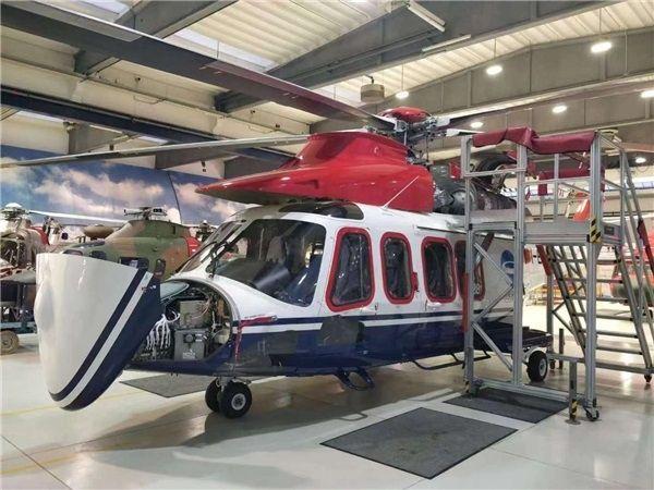 福建省迎来首架保税租赁进口直升机