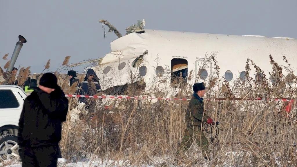 荷兰协助哈萨克斯坦调查空难事故