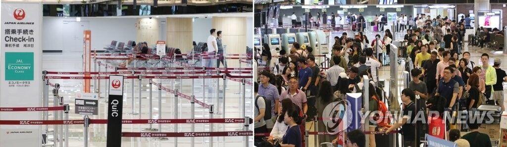 韩国反日情绪持续高涨!访韩日本游客首超赴日韩国游客