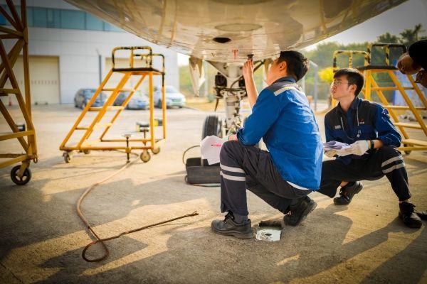 第46届世界技能大赛深圳市选拔赛飞机维修项目在深航维修培训中心举行