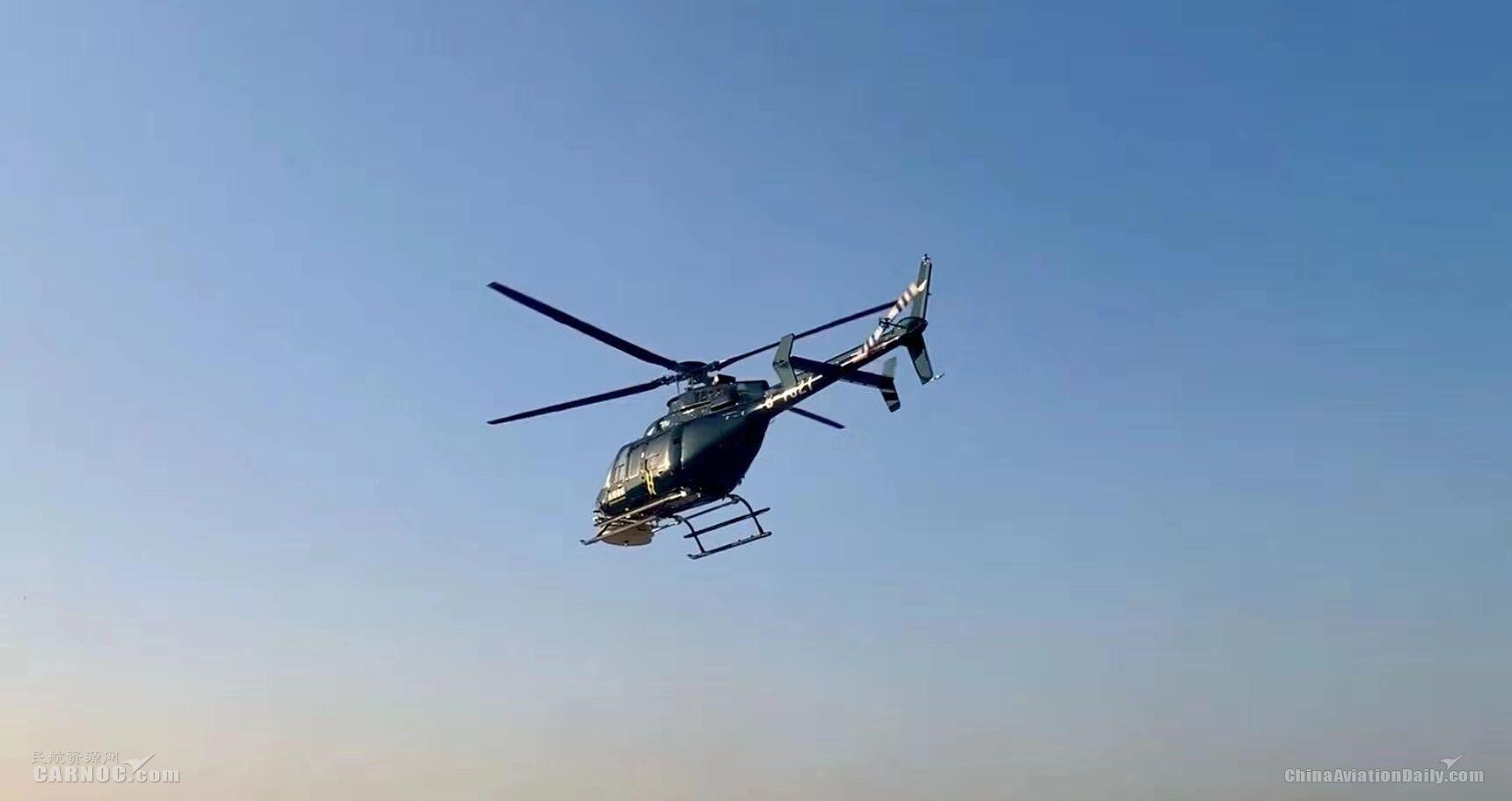 """华北空管局联合多部门通过直升机排查""""黑广播"""""""