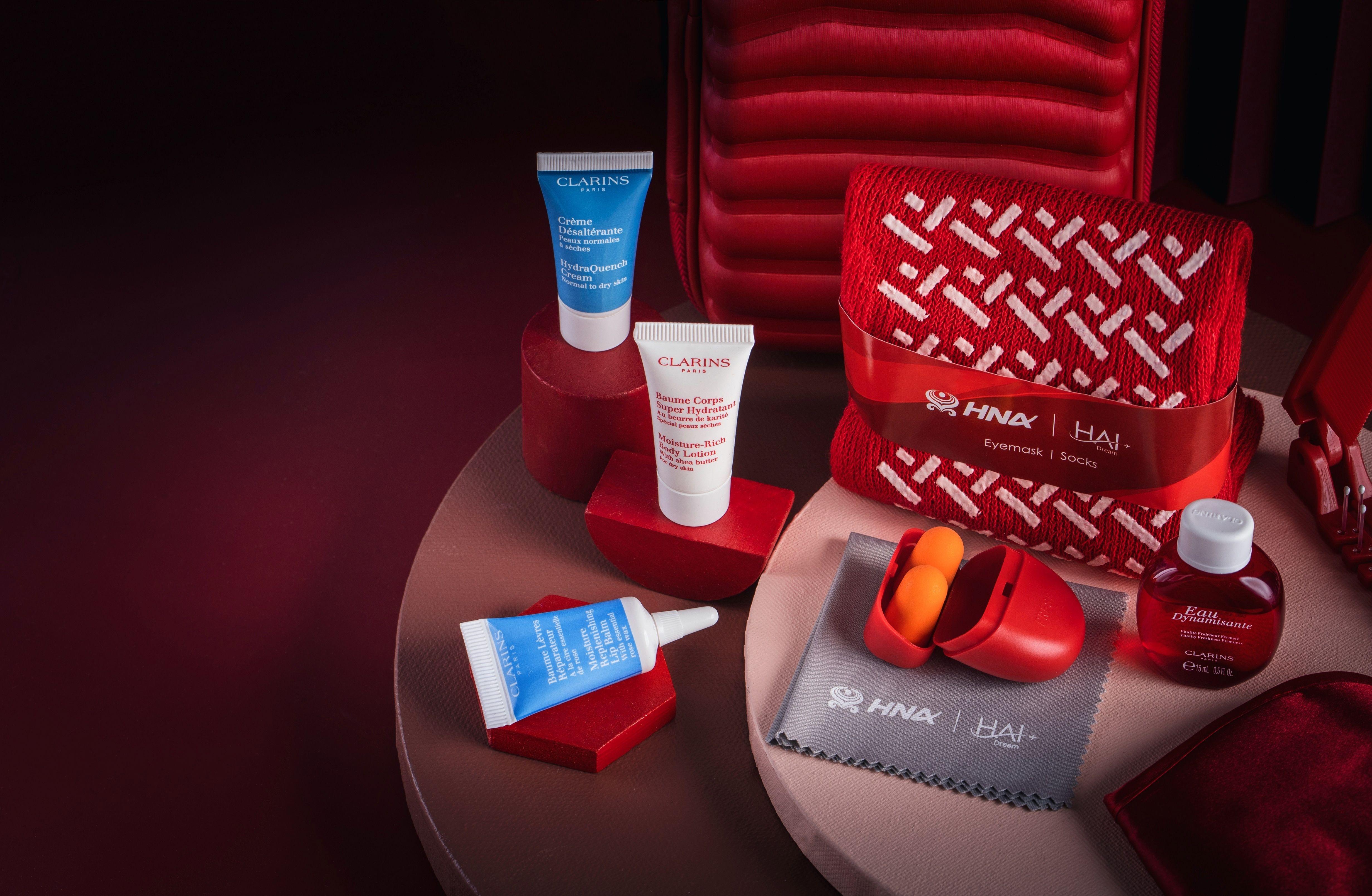 海南航空正式上线新春定制款洗护用品
