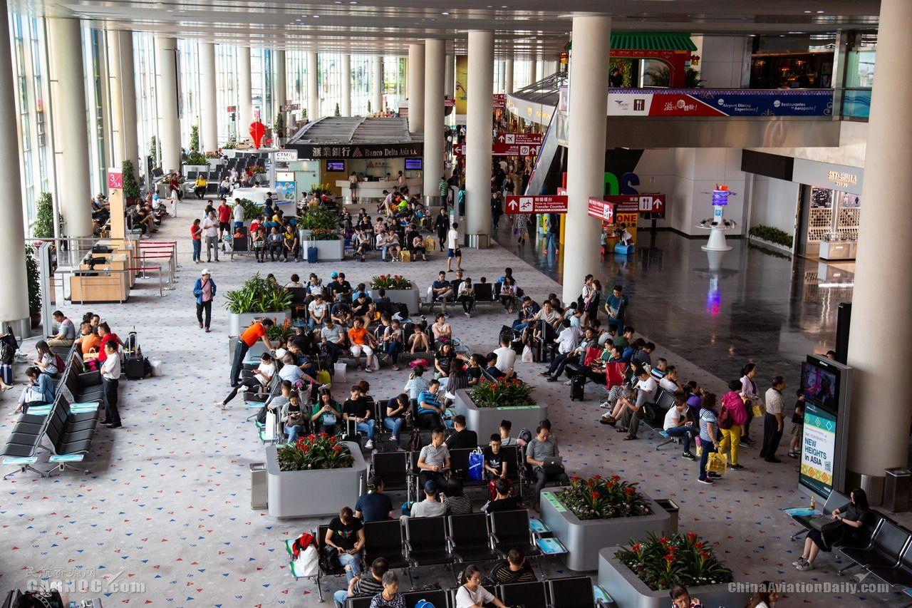 2019年澳门机场旅客吞吐量破960万人次 增长16%