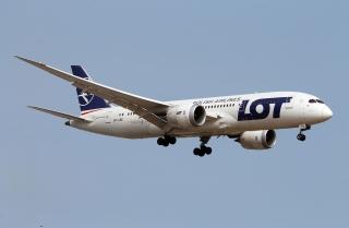 波蘭航空調整航線 避免進入伊朗領空