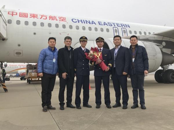 东航江西分公司2020年三名新机长顺利单飞