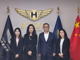 澳门机场代表拜访深圳通用航空业界