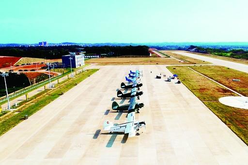 湖南省首个立项通用示范机场——衡阳大浦通用机场一期主体工程完工