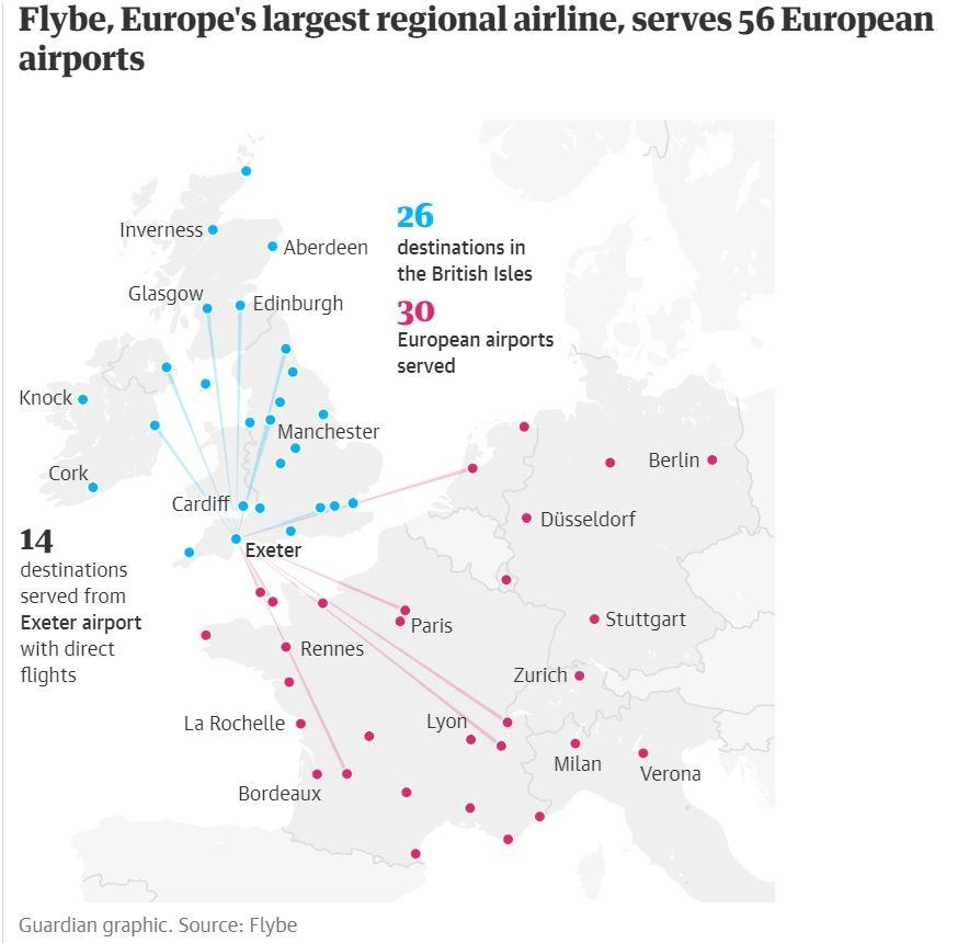 拯救Flybe行动!英政府拟削减航空乘客税