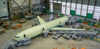 造价或达100亿卢布!俄首架伊尔96-400M成型 2021年首飞