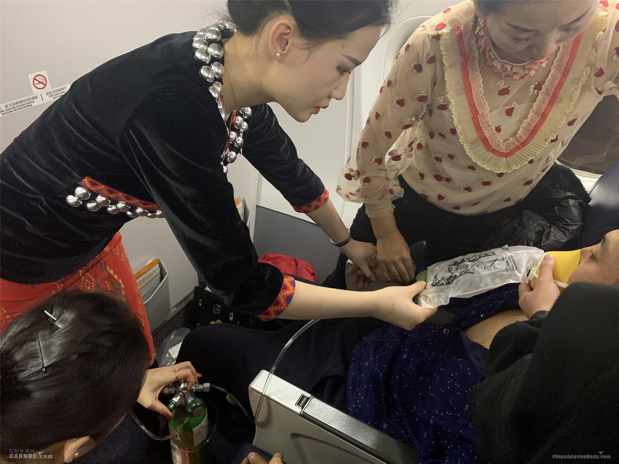 旅客三次失去意识 瑞丽航空紧急备降救人