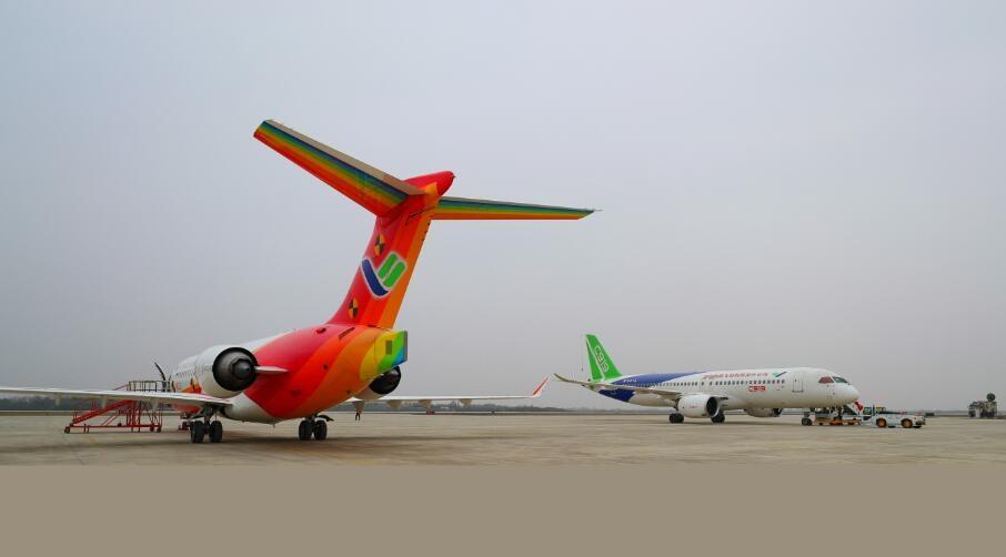 2020年C919将在南昌开展高强度高难度试飞