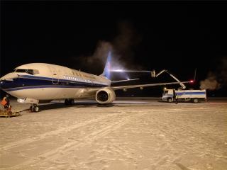 富蕴机场全力保春运航班畅通