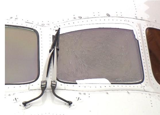 日航客机飞上海 起飞滑行途中驾驶舱玻璃开裂