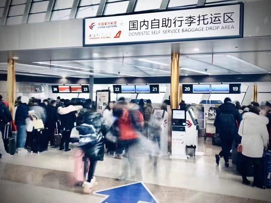 春运第十天 东航累计执行超2.6万航班运送372万余旅客