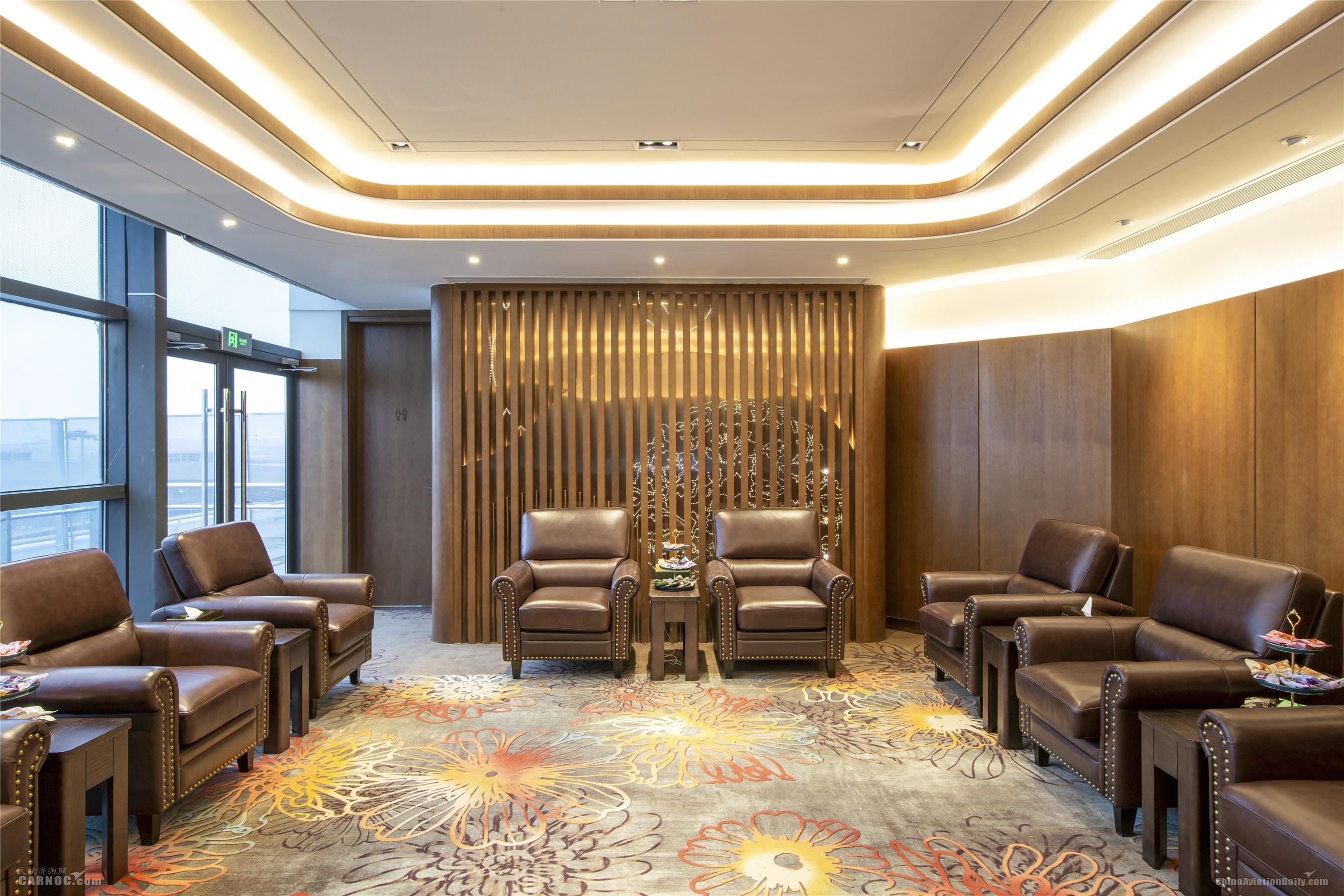 东航全球首个陆侧贵宾室全新亮相