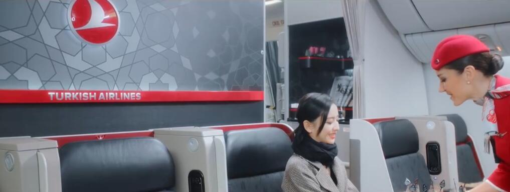 土耳其航空携手佟丽娅推出最新宣传片