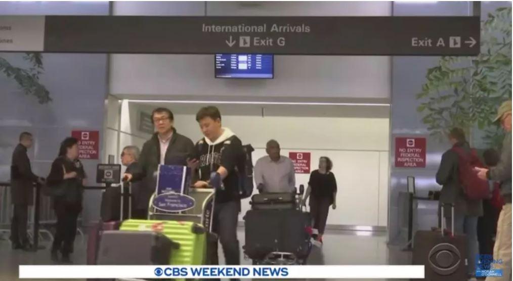 美国确诊首个新型冠状病毒病例,五大国际机场全线筛检