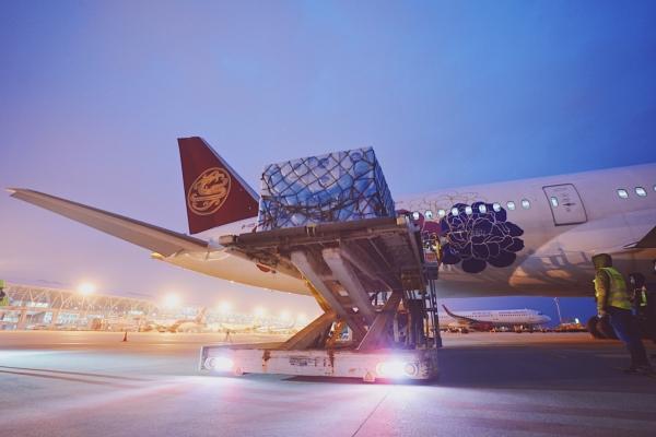 吉祥航空调配787宽体客机执行防疫物资运输任务