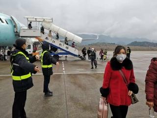 黔江機場團員青年積極奮戰防疫一線
