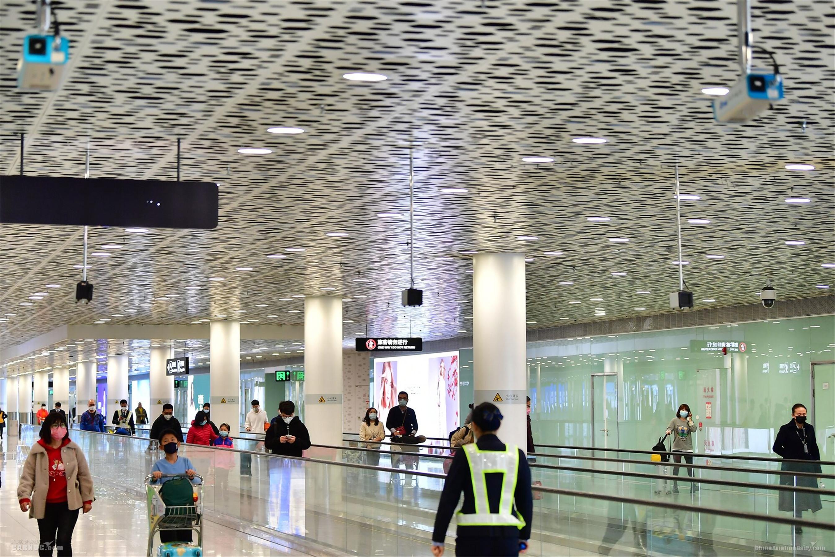深圳机场借助科技手段让疫情防控更精准