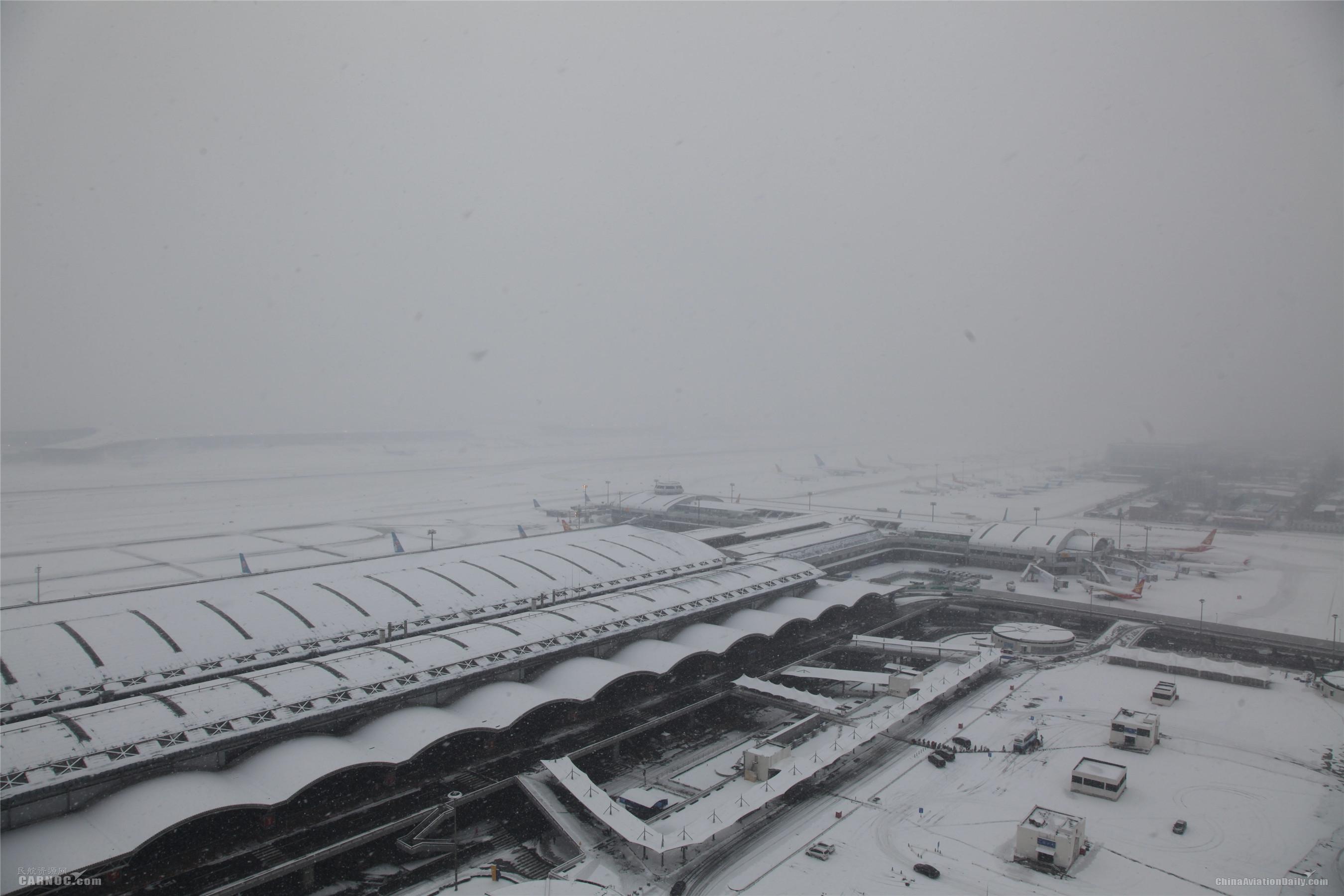 北京两场迎中雪 已启动定点除冰模式