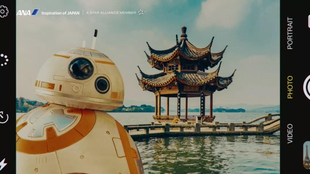 全日空×星球大战《旅行BB-8》:无论世界多广阔,我们与你同在