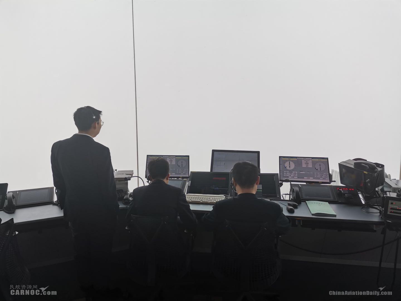 华北空管保障大兴机场再次启用盲降三类标准